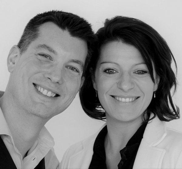 Fondateurs HTC Santé - Olivier et Emilie